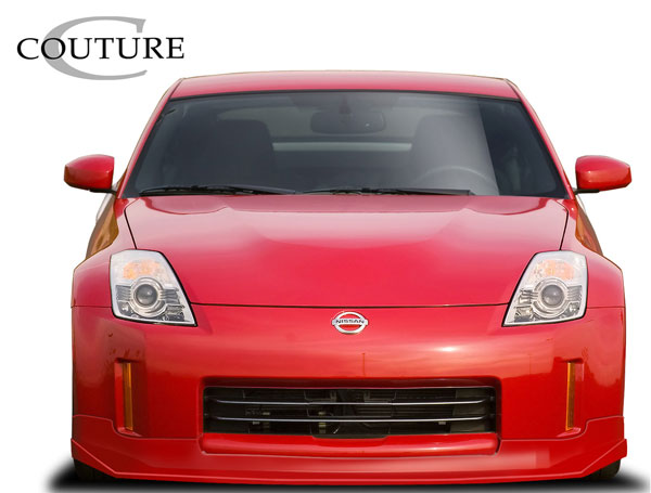 Couture 109194: 2006-2008 Nissan 350Z Couture Vortex Front Lip Under Spoiler Air Dam - 1 Piece