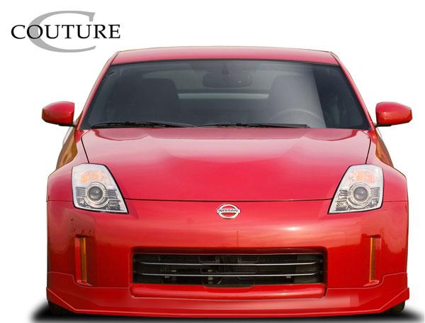 Couture 109194 | Nissan 350Z Couture Vortex Front Lip Under Spoiler Air Dam 1-Piece; 2006-2008
