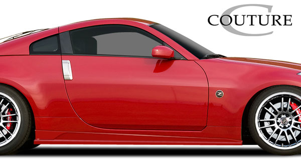 Couture 109195: 2003-2008 Nissan 350Z Couture Vortex Side Skirt Rocker Panels - 2 Piece
