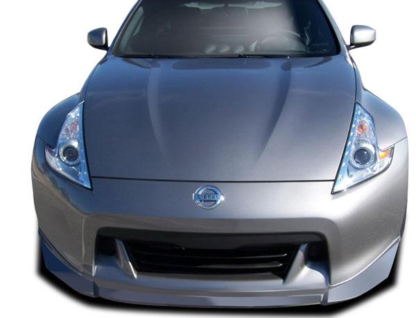 Couture 109197 | Nissan 370Z Couture Vortex Front Lip Under Spoiler Air Dam 1-Piece; 2009-2012