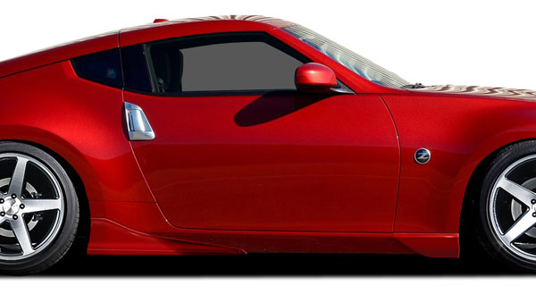 Couture 109198 | 2009-2016 Nissan 370Z Couture Vortex Side Skirt Add Ons - 4 Piece