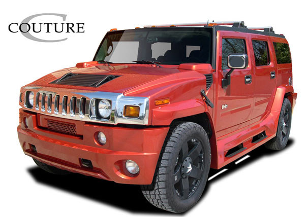 Couture (109218) 2003-2009 Hummer H2 Couture Vortex Wide Body Kit- 10 Piece