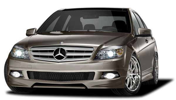 Couture 109223: 2008-2011 Mercedes C Class W204 4DR  Vortex Kit (base model) - 4 Piece