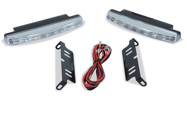 Extreme Dimensions 109234:  Universal LED Daytime Running Light 1 - 2 Piece