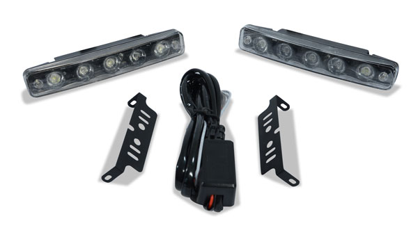 Extreme Dimensions 109236: Universal LED Daytime Running Light 3 - 2 Piece