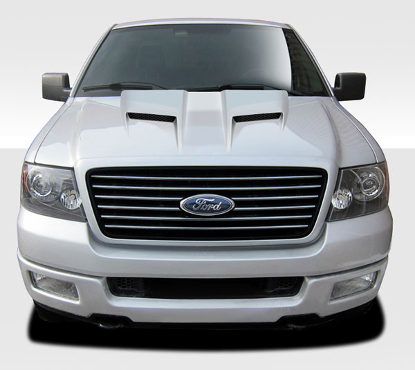 Duraflex 109246 | Ford F-150 / Lincoln Mark LT Duraflex CV-X Hood 1-Piece; 2004-2008