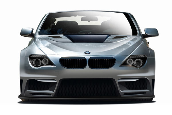 Aero Function 109264 |  BMW 6 Series E63 E64 2DR Convertible AF-2 Wide Body Front Bumper Cover ( GFK ) 1-Piece; 2004-2010