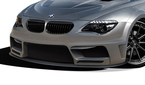 Aero Function 109265: 2004-2010 BMW 6 Series E63 E64 2DR Convertible AF-2 Wide Body Front Lip Under Air Dam Spoiler ( GFK ) - 1 Piece