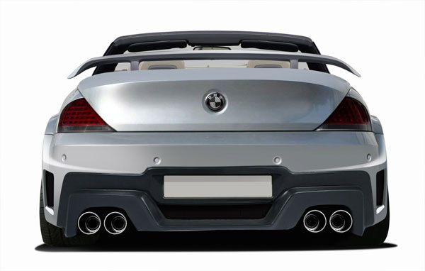 Aero Function 109267: 2004-2010 BMW 6 Series E63 E64 2DR Convertible AF-2 Wide Body Rear Bumper Cover ( GFK ) - 1 Piece