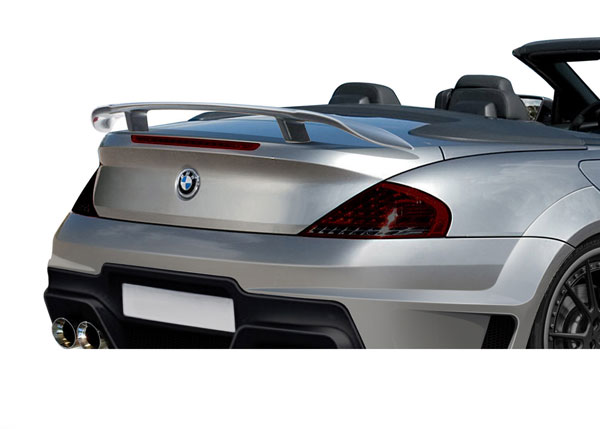 Aero Function 109269: 2004-2010 BMW 6 Series M6 E63 E64 2DR AF-2 Trunk Spoiler ( GFK ) - 1 Piece