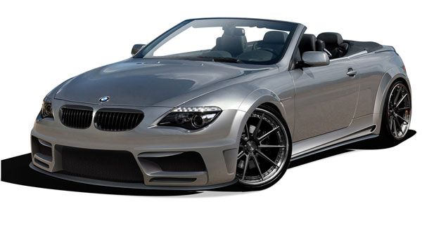 Aero Function 109283: 2004-2010 BMW 6 Series E63 E64 AF-2 Wide Body Complete Kit ( GFK ) - 9 Piece