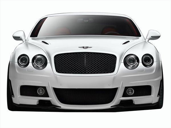 Aero Function 109357: 2003-2010 Bentley Continental GT GTC AF-1 Front Bumper Cover ( GFK ) - 1 Piece