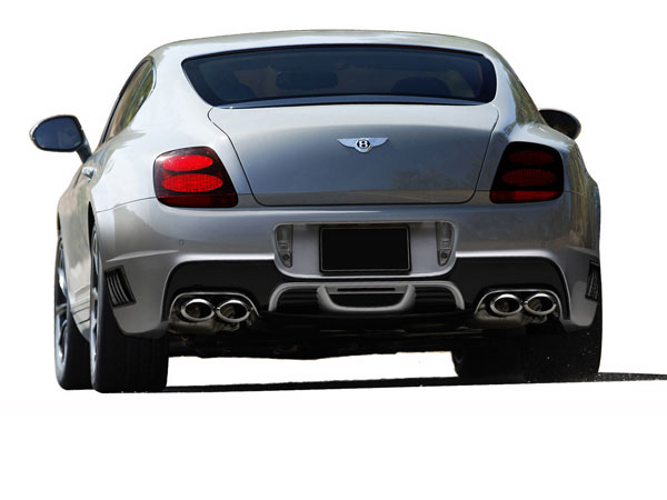 Aero Function 109359: 2003-2010 Bentley Continental GT GTC AF-1 Rear Bumper Cover ( GFK ) - 1 Piece
