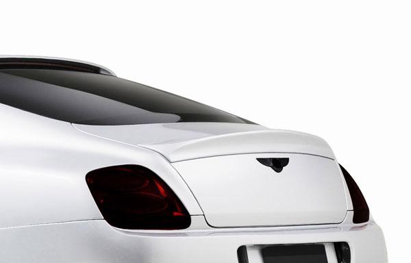 Aero Function 109360 |  Bentley Continental GT AF-1 Trunk Spoiler ( GFK ) 1-Piece; 2003-2010