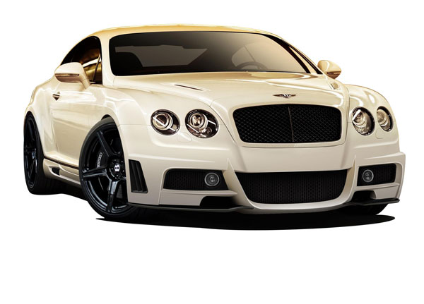 Aero Function (109390)  2003-2010 Bentley Continental GT AF-1 Body Kit ( GFK ) - 5 Piece