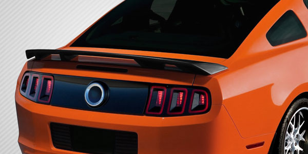 Carbon Creations 109434 | Ford Mustang Carbon Creations Boss Look Wing Spoiler 1-Piece; 2010-2014