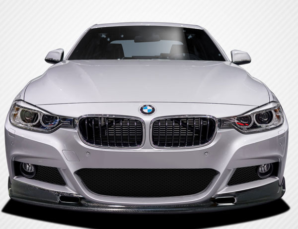 Carbon Creations 109439: 2012-2016 BMW 3 Series M Sport 4DR F30 Carbon Creations Eros Version 1 Front Lip Under Air Dam Spoiler - 1 Piece