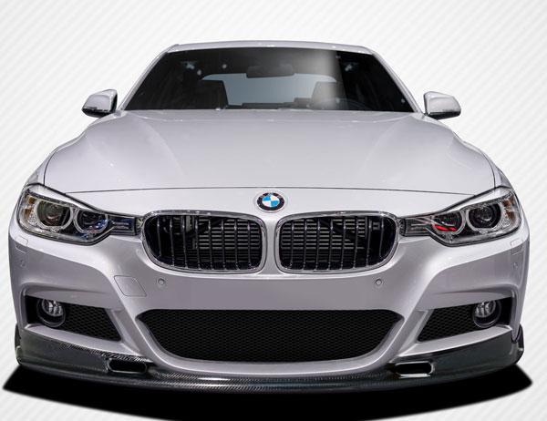 Carbon Creations 109439 | BMW 3 Series M Sport 4DR F30 Carbon Creations Eros Version 1 Front Lip Under Air Dam Spoiler 1-Piece; 2012-2016