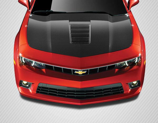 Carbon Creations 109491   Chevrolet Camaro Carbon Creations Z28 Look Hood 1-Piece; 2010-2015