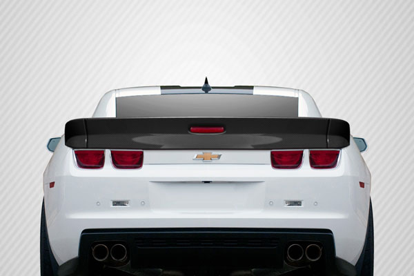 Carbon Creations 109494: 2010-2013 Chevrolet Camaro  GM-X Wing Trunk Lid Spoiler - 3 Piece