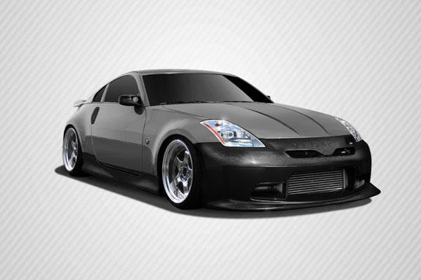 Carbon Creations 109510: 2003-2008 Nissan 350Z Carbon Creations C-2 Body Kit - 4 Piece