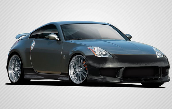Carbon Creations 109511 | Nissan 350Z Carbon Creations Drifter 2 Body Kit 4-Piece; 2003-2008