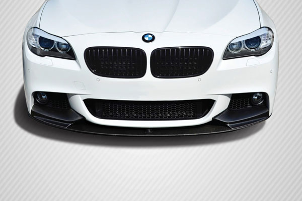 Carbon Creations 109557: 2011-2016 BMW 5 Series F10  M Performance Look Front Lip Splitter ( will only fit M Sport bumpers ) - 1 Piece