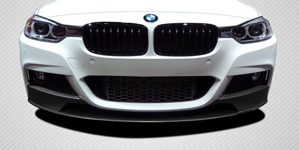 Carbon Creations 109559 | 2012-2016 BMW 3 Series F30 4DR Carbon Creations M Performance Look Front Lip Splitter ( will only fit M Sport bumpers ) - 1 Piece