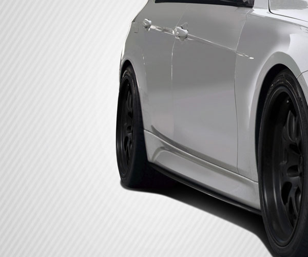 Carbon Creations 109560 | BMW 3 Series F30 Carbon Creations M Performance Look Side Splitter ( will only fit M Sport Side Skirts ) 2-Piece; 2012-2016