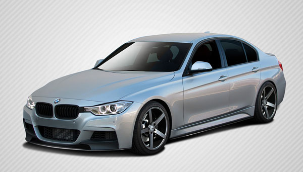 Carbon Creations 109563: 2012-2016 BMW 3 Series F30  M Performance Look Body Kit - 4 Piece