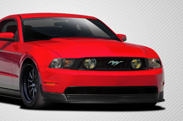 Carbon Creations 109565: 2010-2012 Ford Mustang GT  R500 Front Lip Under Air Dam Spoiler - 1 Piece