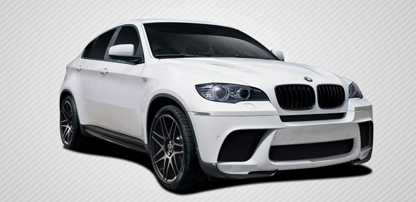 Carbon Creations 109571: 2010-2014 BMW X6 E71 E72 Carbon Creations M Performance Look Body Kit - 5 Piece