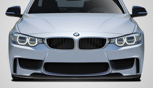 Carbon Creations 109583 | BMW 4 Series F32 Carbon Creations 1M Look Front Splitter 1-Piece; 2014-2016