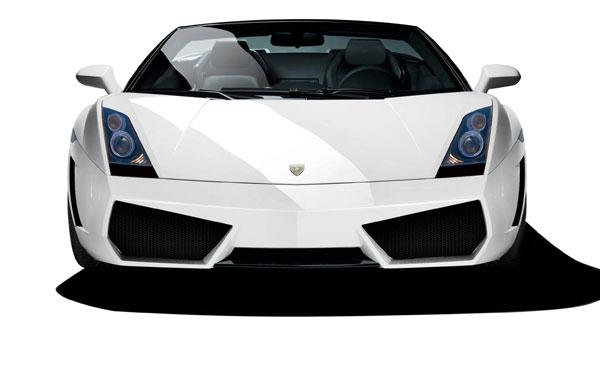 Aero Function 109602 |  2004-2008 Lamborghini Gallardo AF-1 Wide Body Front Bumper Cover ( GFK ) - 2 Piece