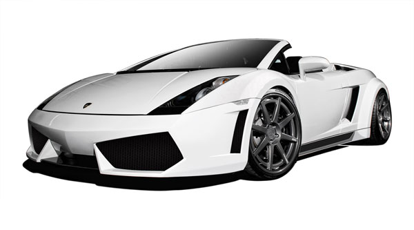 Aero Function 109607 |  Lamborghini Gallardo AF-1 Wide Body Kit ( GFK ) 9-Piece; 2004-2008