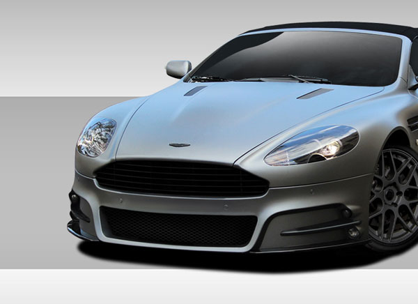 Duraflex 109640 |  Aston Martin DB9 DBS Eros Version 1 Front Bumper Cover 1-Piece; 2004-2012