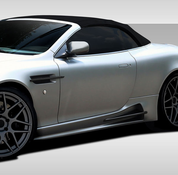 Duraflex 109641 |  Aston Martin DB9 DBS Eros Version 1 Side Skirt Rocker Panels 2-Piece; 2004-2012