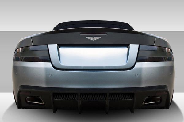 Duraflex 109642 |  Aston Martin DB9 DBS Eros Version 1 Rear Bumper Cover 1-Piece; 2004-2012