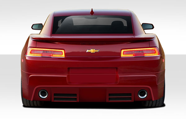 Duraflex 109649 | 2014-2015 Chevrolet Camaro Duraflex Racer Rear Lip Under Air Dam Spoiler - 1 Piece