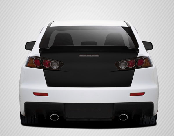 Carbon Creations 109673: 2008-2015 Mitsubishi Lancer / Lancer Evolution 10 Carbon Creations GT Concept Trunk - 1 Piece