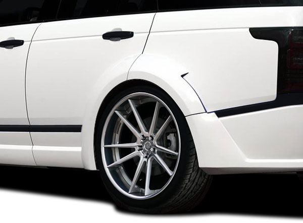 Aero Function 109709: 2013-2015 Land Rover Range Rover AF-1 Wide Body Rear Fender Flares ( PUR-RIM ) - 4 Piece