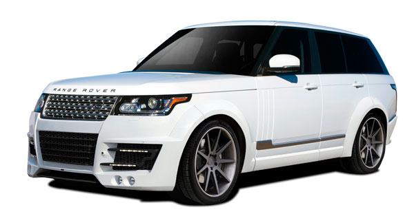 Aero Function 109718: 2013-2015 Land Rover Range Rover AF-1 Complete Wide Body Kit ( GFK PUR-RIM ) - 27 Piece