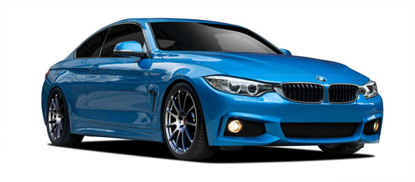 Extreme Dimensions 109719:  2014-2016 BMW 4 Series F32 M Sport Look Body Kit - 4 Piece
