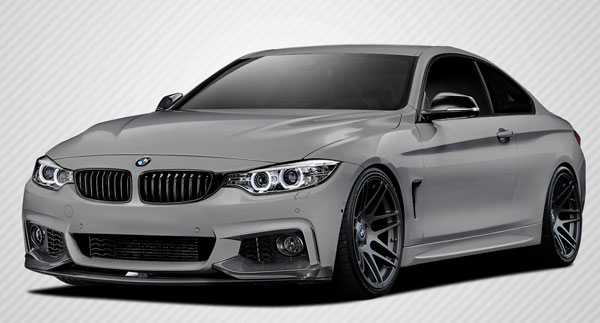 Carbon Creations 109787 | BMW 4 Series F32 Carbon Creations M Performance Look Body Kit 5-Piece; 2014-2016