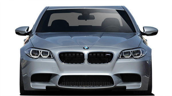 Vaero 109841 | 2011-2016 BMW 5 Series F10 Vaero M5 Look Conversion Front Bumper Cover ( without PDC , with Washer , without Camera ) - 1 Piece