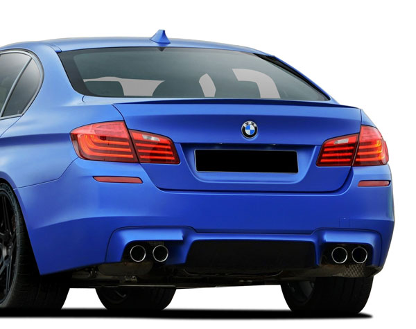 Vaero 109844: 2011-2016 BMW 5 Series F10 4DR Vaero M5 Look Rear Bumper Cover ( without PDC ) - 1 Piece