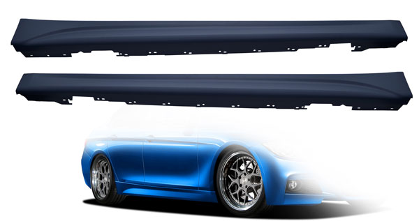 Vaero 109847: 2012-2016 BMW 3 Series F30  M Sport Look Side Skirt Rocker Panels - 2 Piece