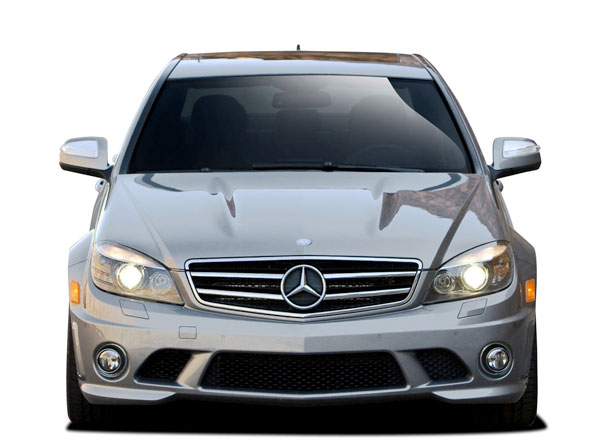 Vaero 109854 | Mercedes C Class W204 Vaero C63 Look Front Bumper Cover ( with PDC ) 1-Piece; 2008-2011