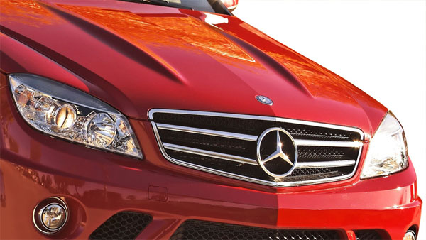 Vaero 109856 | Mercedes C Class W204 Vaero C63 Look Grille and Mounting Accessories 1-Piece; 2008-2011