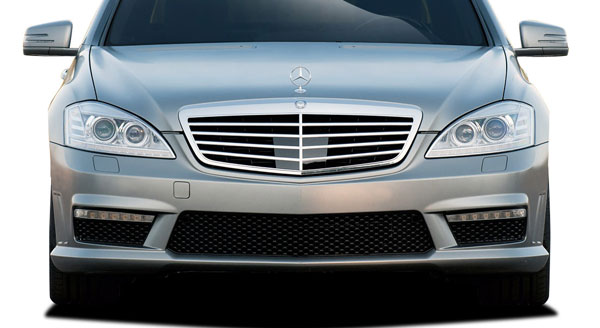 Vaero 109877 | Mercedes S Class W221 Vaero S63 Look Front Bumper Cover ( without PDC ) 1-Piece; 2010-2013